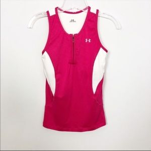 Under Armour Workout Tank  Pink Size Small